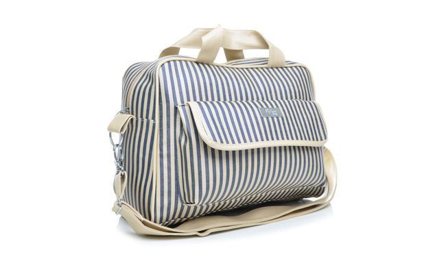 حقيبة المغير خطوط زرقاء Majov التي كتبها R 359.90 $ في متجر Tricae