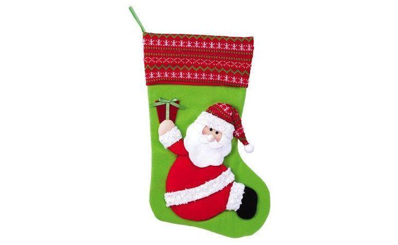 La mitad de Santa flóculo por R $ 28,90 en decoraciones MZ