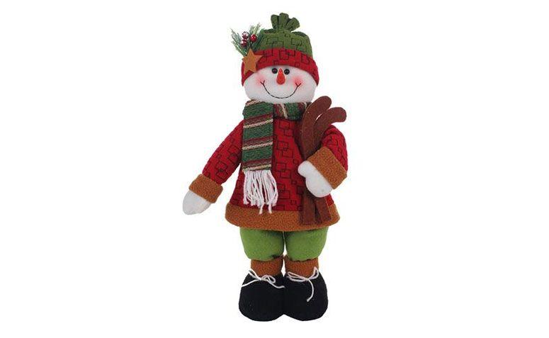 Muñeco de nieve 42 cm R $ 58.49 en extra