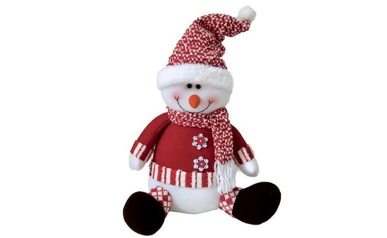 Muñeco de nieve sentado por R $ 50.90 en extra
