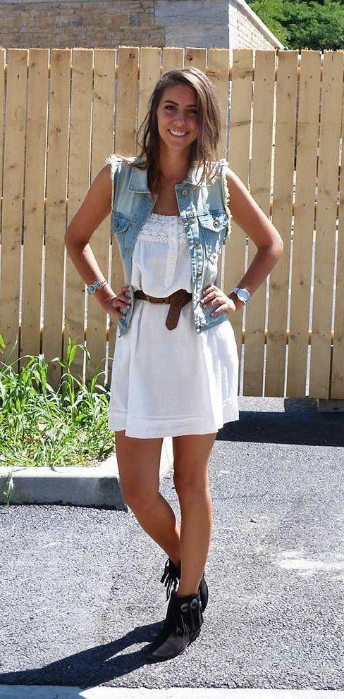 """Foto: Reprodução / <a href=""""http://www.cuteandwild.com/2013/08/lace-summer-dress.html"""" target=""""_blank"""">Cute and Wild</a>"""