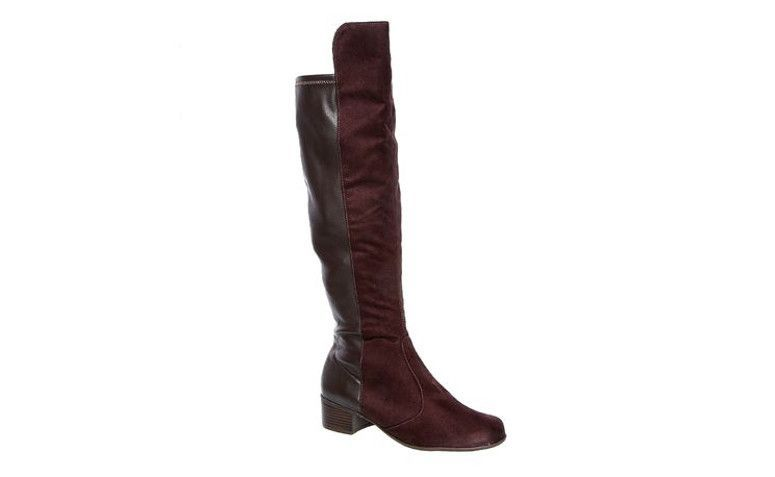"Bota Over The Knee Vizzano por R$129,99 na <a href=""http://ad.zanox.com/ppc/?29470339C91617029&ULP=[[http://www.marisa.com.br/produto/bota-over-the-knee-vizzano-3045106/133701?refferPos=pfy3sizAARI=&refferPag=YrItVniimrc=&cor_n_codigo=66&utm_source=zanox&utm_medium=branding&utm_campaign=custom_deeplink&utm_content=textlink_landing-ofertas-voos&affid=4873]]"" target=""blank_"">Marisa</a>"