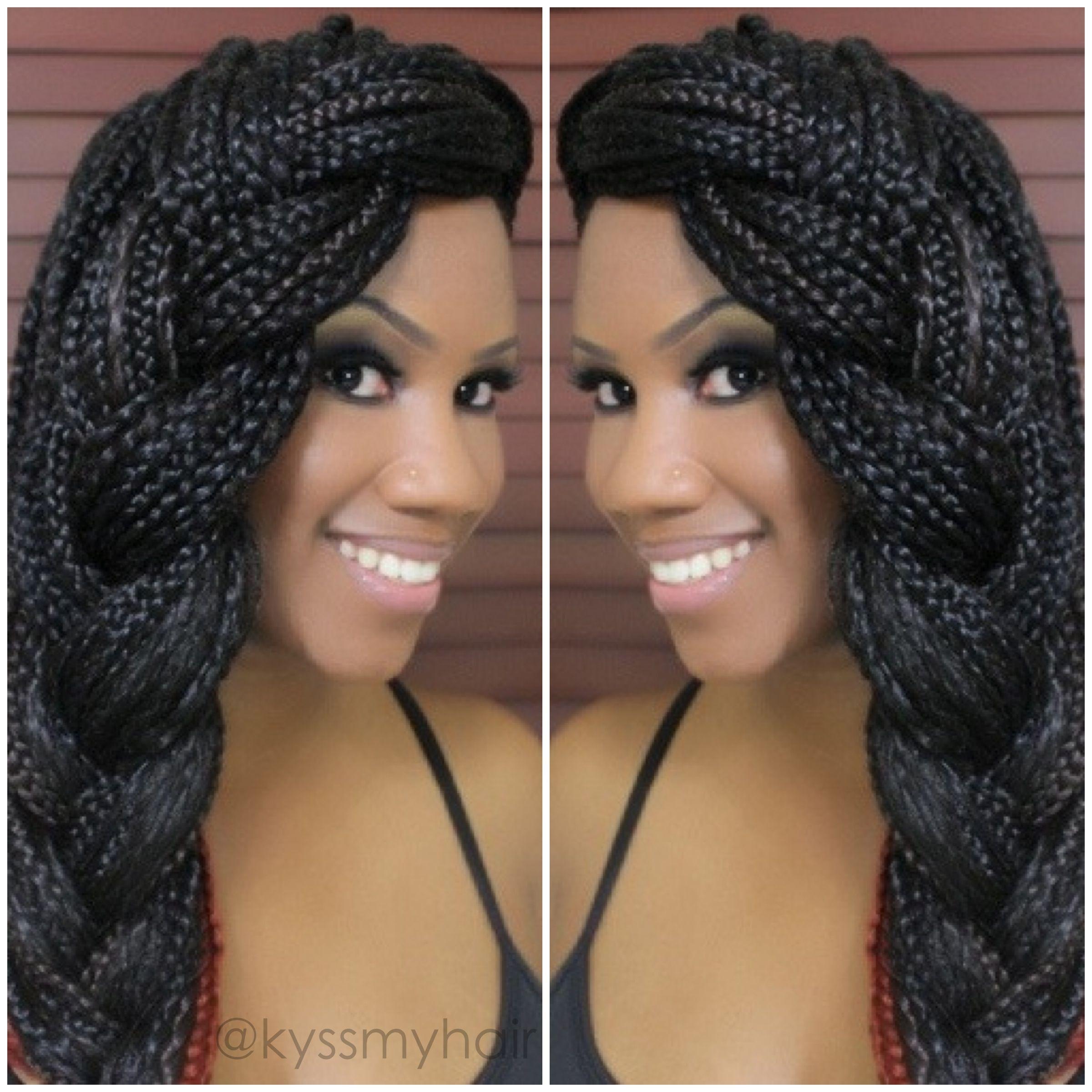"Foto: Reprodução / <a href=""http://www.kyssmyhair.com/wp-content/uploads/2013/08/styles-for-box-braids3.jpg"" target=""_blank"">Kiss My Hair</a>"