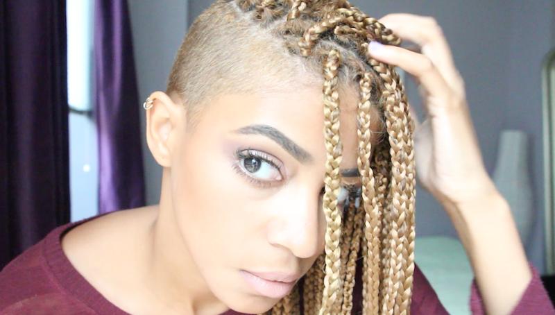 "Foto: Reprodução / <a href=""http://www.shinestruck.com/2014/08/01/diy-box-braid-natural-hair/"" target=""_blank"">Shine Struck</a>"
