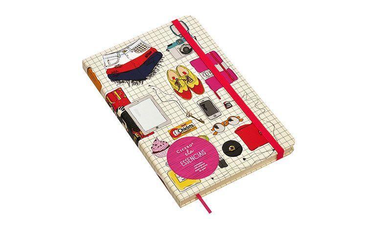 """Caderneta Cícero por R$59,90 na <a href=""""http://www.shoptime.com.br/produto/113860921/caderneta-cicero-papelaria-essenciais-anotacoes-160-paginas-ela"""" target=""""blank_"""">Shoptime</a>"""