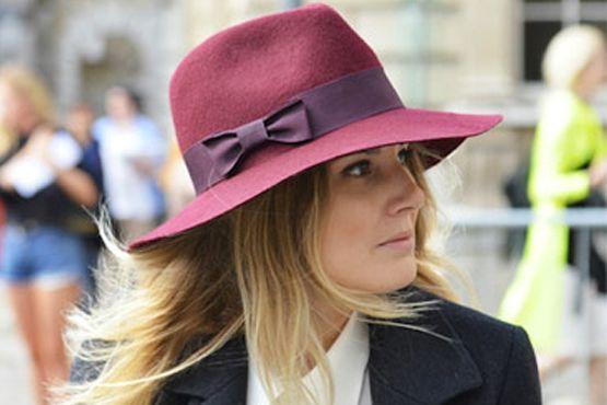 e Burgundy é a cor do inverno 2012