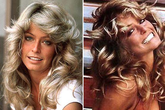O cabelo com ondas de Farrah Fawcet, ícone de beleza dos anos 70, já serviu de inspiração para muitas mulheres