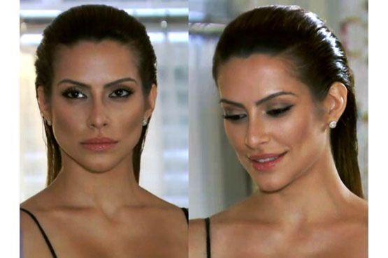 A atriz, em cena como a Bianca, na novela Salve Jorge.