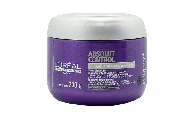 """Máscara Loreál Absolut Control por R$111,29 na <a href=""""http://www.docebeleza.com.br/loreal-profissional/loreal-profissional-absolut-control/loreal-profissional-absolut-control-mascara-200-g/p86011-d860/"""" target=""""blank_"""">Doce Beleza</a>"""