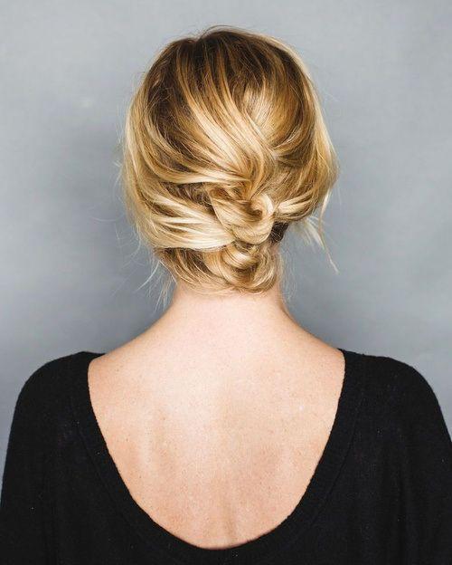 "Foto: Reprodução / <a href=""http://annesage.com/blog/2014/12/holiday-hair-tutorial-an-easy-short-hair-updo.html"" target=""_blank"">Anne Sage</a>"