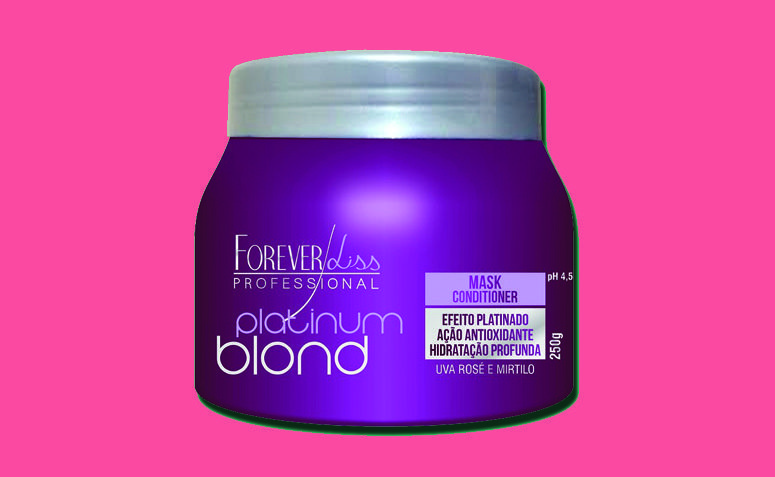 Matizadora maski Ikuisesti Liss Platinum Blond R $ +23,90 klo Ikuisesti Liss Professional