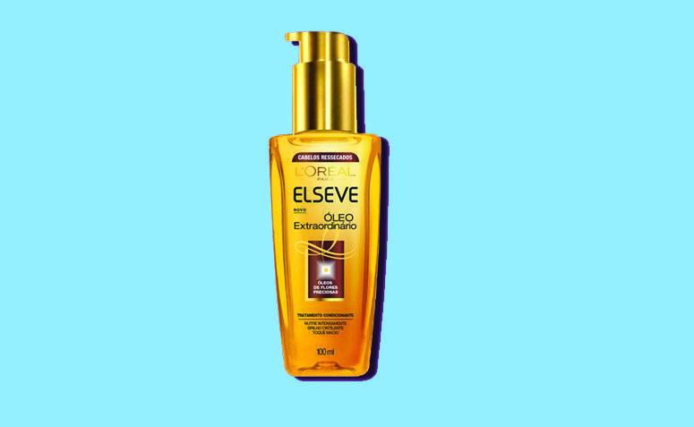 Öljyn Elseve Satunnaiset hiukset kuivina R $ 27,99 Netfarma