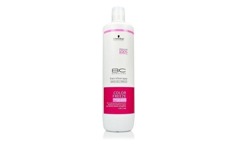"""Schwarzkopf Color Freeze Shampoo de Brilho por R$89,00 na <a href=""""http://www.cabeleza.com.br/schwarzkopf-bc-color-freeze-shampoo-de-brilho---1250ml-6347/p"""" target=""""blank_"""">Cabeleza</a>"""