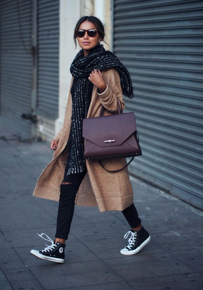"Foto: Reprodução / <a href=""http://sincerelyjules.com/2015/01/converse-chuck-taylor.html"" target=""_blank"">Sincerely Jules</a>"
