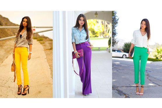 Três cores marcantes para alegrar os looks.