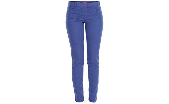"""Calça azul Cantão por R$179,10 na <a href=""""http://www.fashiondelivery.com.br/calca-cantao-sarja-jegging-color-combat-azul-200901/p"""" target=""""blank_"""">Fashion Delivery</a>"""
