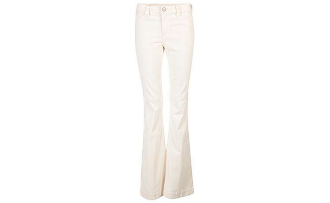 Blandede hvite bukser for $ 634 på E-Closet
