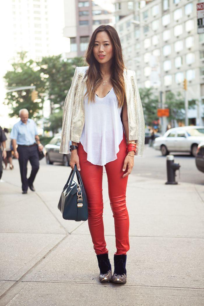 "Foto: Reprodução / <a href=""http://www.songofstyle.com/2012/09/mlle-mademoiselle.html"" target=""_blank"">Song of Style</a>"