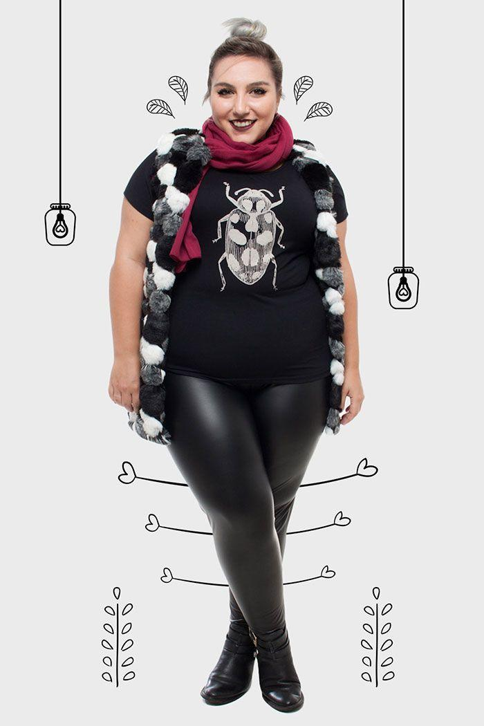 """Foto: Reprodução / <a href=""""http://juromano.com/looks/roupas-plus-size-de-inverno-para-2015-minhas-escolhas-na-flaminga"""" target=""""_blank"""">Ju  Romano</a>"""