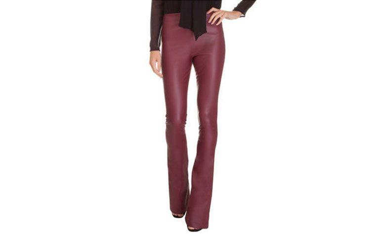 seluar kulit Flare Eco 284 untuk $ 239 dalam OQVestir