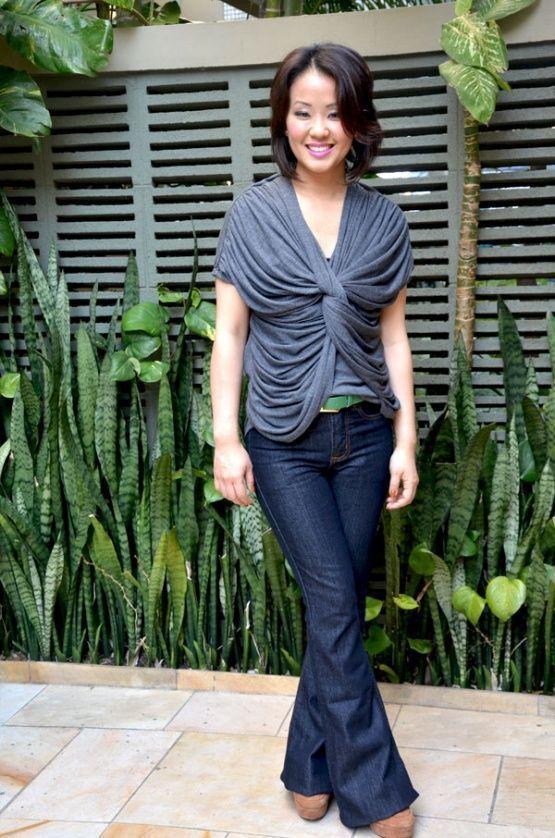 """Foto: Reprodução / <a href=""""http://www.gavetinhadeluxo.com.br/dois-looks-com-as-mesma-flare/"""" target=""""_blank"""">Gavetinha de Luxo</a>"""