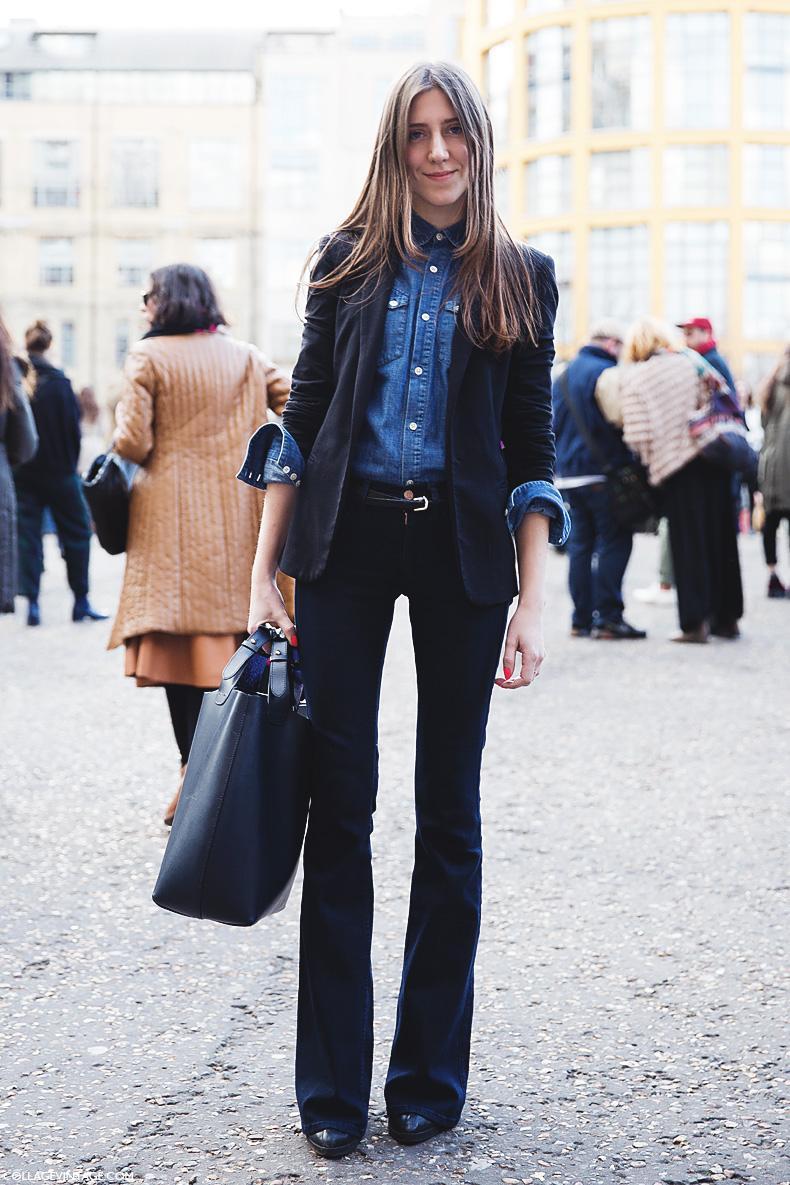 "Foto: Reprodução / <a href=""http://misyellestore.blogspot.com.br/2014/12/how-to-wear-flare-jeans.html"" target=""_blank"">Misyelle</a>"