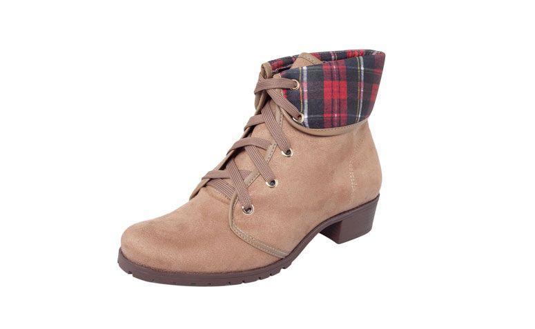 Boot Moleca cokelat untuk US $ 119,99 di Dafiti