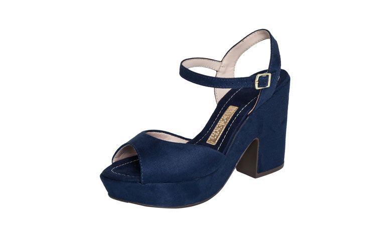 Sandal Moleca Heels oleh R $ 99,99 di Dafiti