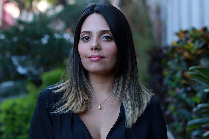 """Foto: Reprodução / <a href=""""http://claudinhastoco.com/o-meu-novo-cabelo/"""" target=""""_blank"""">Claudinha Stocco</a>"""