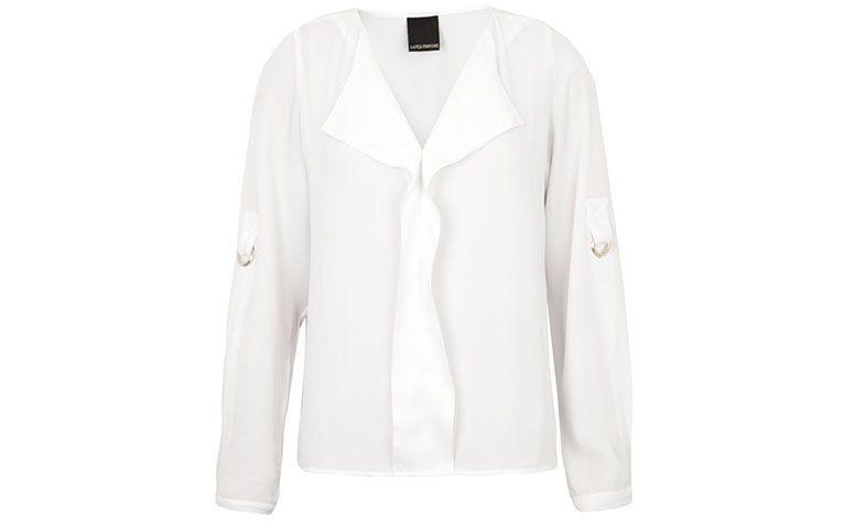 "Camisa branca Lança Perfume por R$225,55 na <a href=""http://ad.zanox.com/ppc/?29469388C60460945&ULP=[[http://www.dafiti.com.br/Camisa-Lanca-Perfume-Martingales-Branca-1627984.html?utm_source=Zanox&utm_medium=Cpa&utm_campaign=deeplink]]"" target=""blank_"">Dafiti</a>"