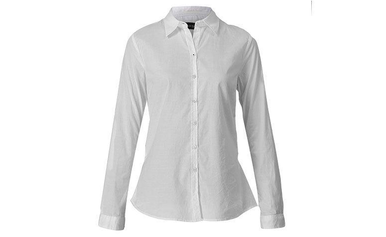 "Camisa branca Ellus por R$305,15 na <a href=""http://www.fashiondelivery.com.br/camisa-ellus-co--m-l-slim-soft-basica-branco-237818/p"" target=""blank_"">Fashion Delivery</a>"