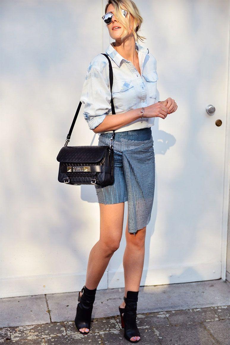 "Foto: Reprodução / <a href=""http://www.fashionata.com/fashion-my-outfit/how-i-love-good-skirt"" target=""_blank"">Fashionata</a>"