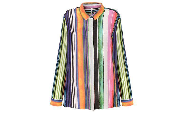 colored striped shirt Scalon by R $ 383 on Capitollium