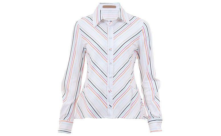 colored striped shirt Erika Ikezili by R $ 297.50 in Farfetch