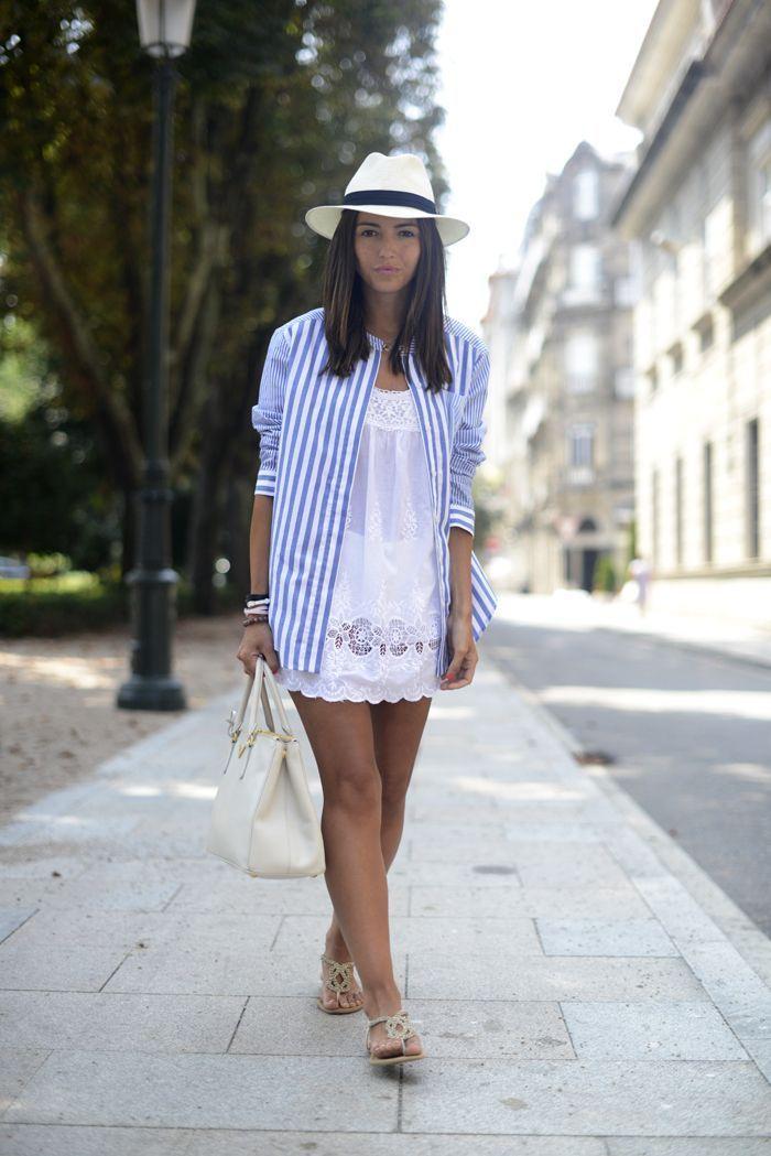 """Foto: Reprodução / <a href=""""http://lovely-pepa.com/lovely-looks/stripes-over-white/"""" target=""""_blank"""">Lovely Pepa</a>"""