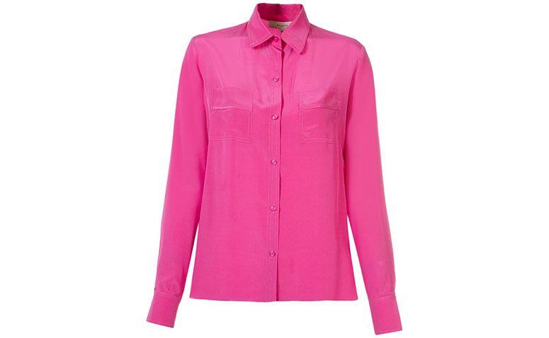 R에 의해 분홍색 실크 셔츠 Fility Farfetch에서 $ (283)