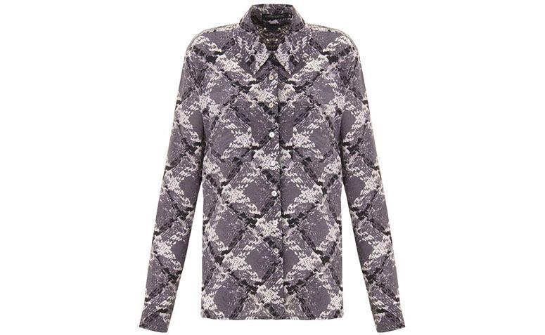 "Camisa de seda estampada por R$169,50 na <a href=""http://www.capitollium.com.br/produto/camisa-seda-pura-estampada-digital-laura-cinza-147417?atributo=158:cinza"" target=""blank_"">Capitollium</a>"