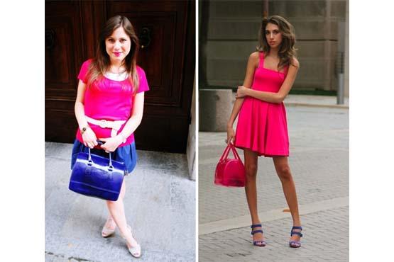 Color blocking e candy bag são uma ótima combinação para este verão