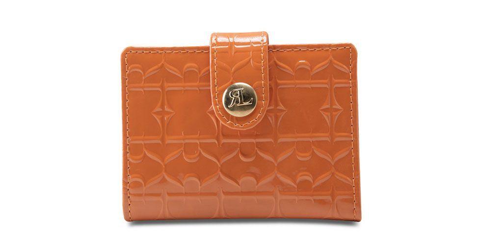 <p>Carteira laranja – Rogério Lima por R$49,99 na Loja Anita Online. </p>