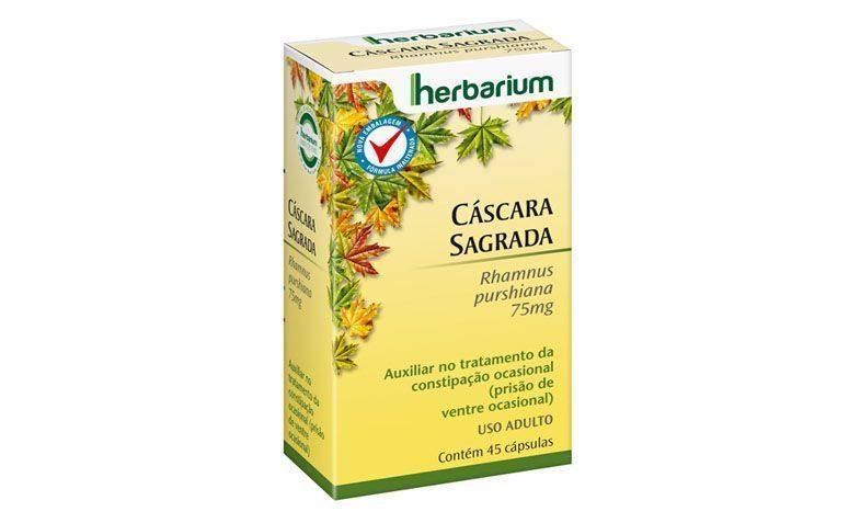 "Cascara Sagrada (cápsulas) Herbarium por R$25,20 na <a href=""http://www.netfarma.com.br/Produto/15634/cascara-sagrada-75-mg"" target=""blank_"">Netfarma</a>"