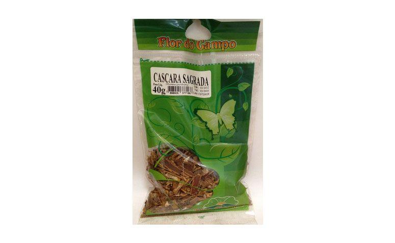 """Chá de Cáscara Sagrada Flor do Campo por R$6,50 no <a href=""""http://www.emporioapisbotanica.com.br/loja/cha-cascara-sagrada.html"""" target=""""blank_"""">Empório Apis Botânica</a>"""