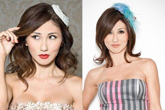 A editora de moda Adriana Yoshida usa e abusa das casquetes nos cabelos