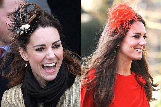 A princesa Kate Middleton não dispensa o acessório em suas produções
