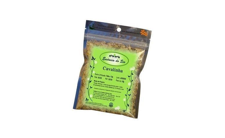 """Chá de cavalinha 30g por R$8,90 na <a href=""""http://www.milgraos.com.br/cha-de-cavalinha-30g-essencia-do-ser.html"""" target=""""blank_"""">Mil Grãos</a>"""