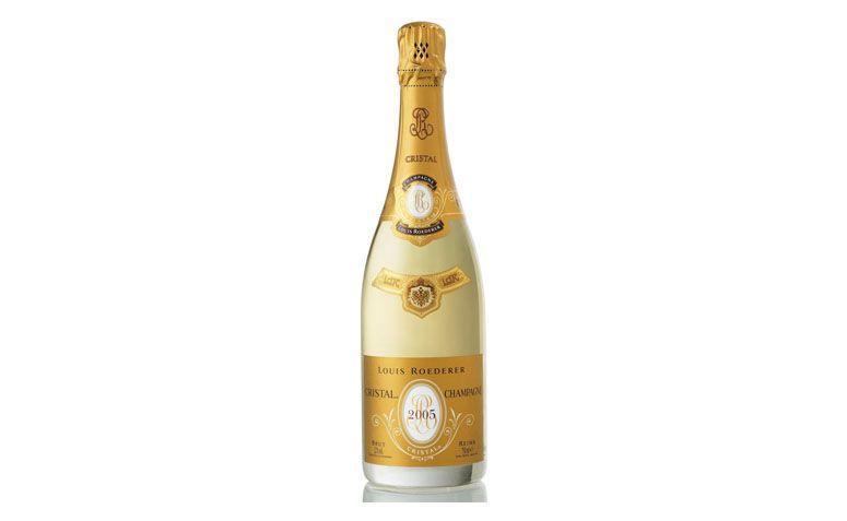 """Champagne Cristal Brut por R$2.499,90 na <a href=""""http://www.casadabebida.com.br/champagne/champagne-cristal-brut/"""" target=""""blank_"""">Casa da Bebida</a>"""