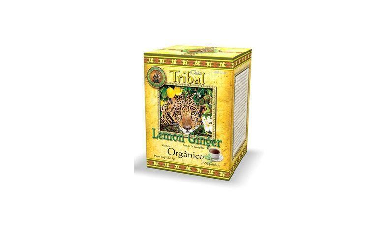 """Chá de Erva Mate, Limão e Gengibre  por R$9,90 na <a href=""""http://www.belavidanatural.com.br/cha-erva-mate-limao-gengibre-organico-tribal-brasil"""" target=""""blank_"""">Bela Vida Natural</a>"""