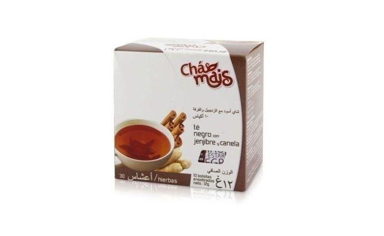 Thé noir, le gingembre et la cannelle R 2,40 $ en Natue