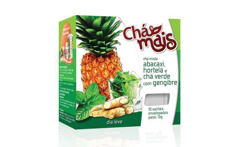 ananas thé, menthe, thé vert et gingembre pour 3,90 $ dans WG Natural Products
