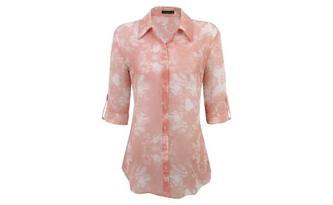 """Camisa floral por R$109 na <a href=""""http://www.lojasrenner.com.br/productdetails/index.jsp?skuId=533525272&productId=533525264"""" target=""""_blank"""">Renner</a>"""