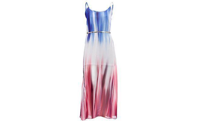 """Vestido Chiffon Tie-Dye por R$189,99 na <a href=""""http://www.passarela.com.br/feminino/produto/6400496702/Vestido-Chiffon-Tie-Dye-Lara-K078---Azul/"""" target=""""_blank"""">Passarela</a>"""